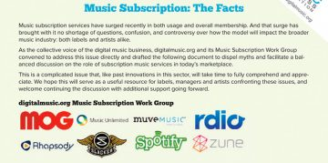music subscription whitepaper