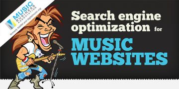 seo for music websites