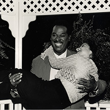 Luther Vandross and Gloria Estefan