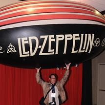 Led Zeppelin blimp