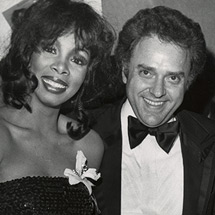Donna Summer and Neil Bogart