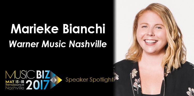 Music Biz 2017 Speaker Spotlight: Marieke Bianchi, Warner
