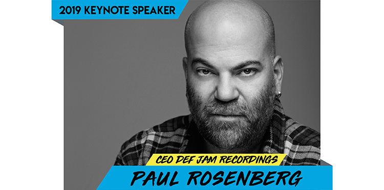 Paul Rosenberg To Keynote Featured Presentation at Music Biz